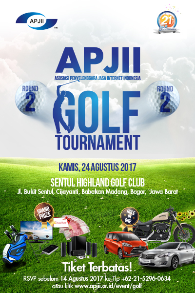 APJII GOLF TOURNAMENT ROUND 2