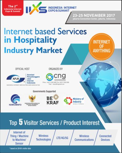 THE 2ND INDONESIA INTERNET EXPO & SUMMIT 2017